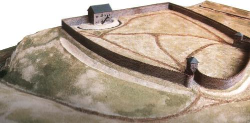 Könnte das karolingische Kastell in Halle so oder ähnlich ausgesehen haben?